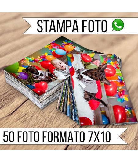 STAMPA - Formato 7X10 - 50 FOTO