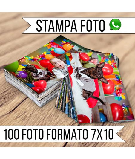 STAMPA - Formato 7X10 - 100 FOTO