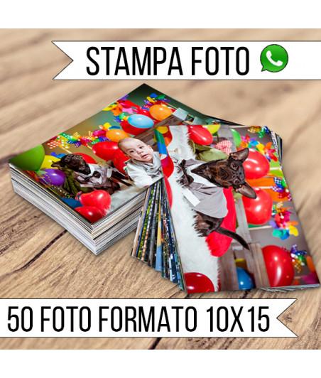 STAMPA - Formato 10x15 - 50 FOTO