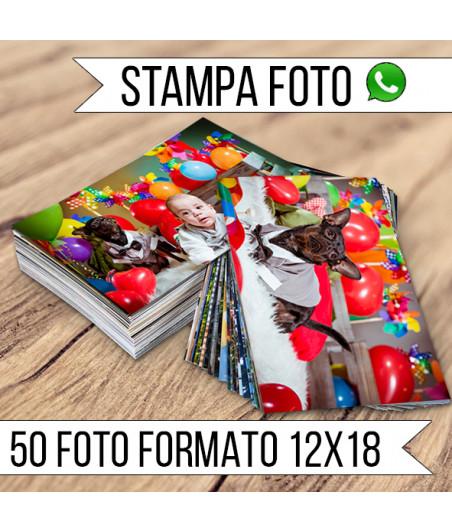 STAMPA - Formato 12x18 - 50 FOTO