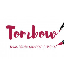 TOMBOW - ABT- 847 Crimson Dual Brush Pen