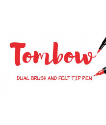 TOMBOW - ABT-856 Chinese Red Dual Brush Pen