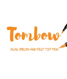 TOMBOW - ABT-933 Orange Dual Brush Pen