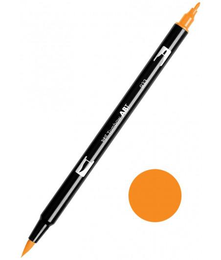 TOMBOW - ABT-933 Orange Dual Brush Pen