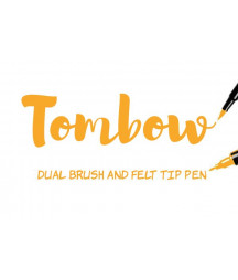 TOMBOW - ABT-985 Chrome Yellow Dual Brush Pen