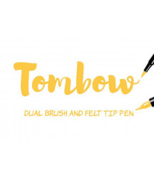 TOMBOW - ABT-025 Light Orange Dual Brush Pen