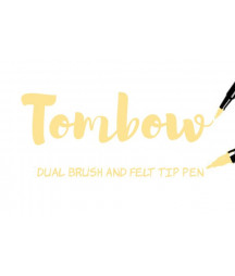 TOMBOW - ABT-991 Light Ochre Dual Brush Pen