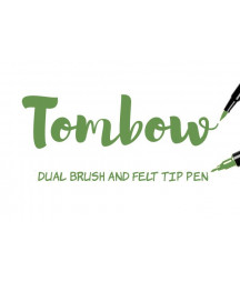 TOMBOW - ABT-158 Dark Olive Dual Brush Pen