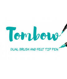 TOMBOW - ABT-373 Sea Blue Dual Brush Pen