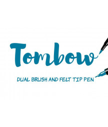 TOMBOW - ABT-452 Process Blue Dual Brush Pen