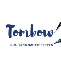 TOMBOW - ABT-528 Navy Blue Dual Brush Pen