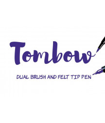 TOMBOW - ABT-606 Violet Dual Brush Pen