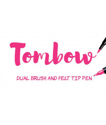 TOMBOW -  ABT-755 Rubine Red Dual Brush Pen