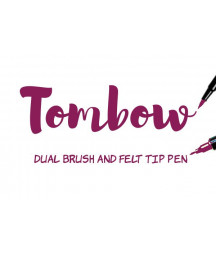 TOMBOW - ABT-757 Port Red Dual Brush Pen