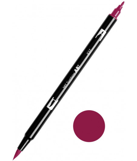 TOMBOW - ABT-837 Wine Red Dual Brush Pen