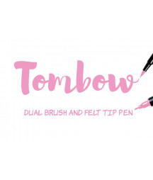 TOMBOW - ABT-723 Pink Dual Brush Pen