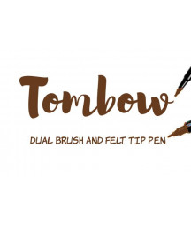 TOMBOW - ABT-969 Chocolate Dual Brush Pen
