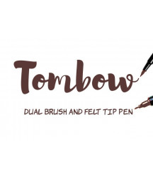 TOMBOW - ABT-879 Brown Dual Brush Pen
