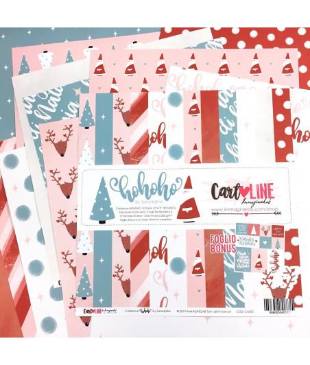 CartoLINE - HoHoHo by Sara Dafne12'x12''