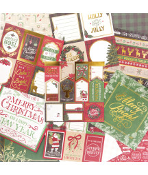 CRAFT SMITH - Christmas Farmhouse - 6x6 inch paper pad