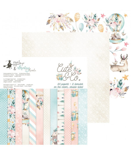 PIATEK - Cute & Co - 6x6 Pad Collection Kit