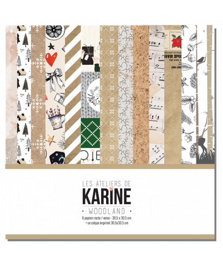 KARINE - Woodland 6f set 12x12