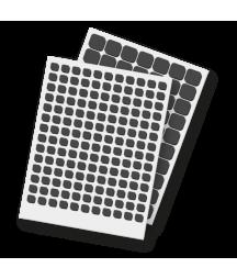 SCRAPBOOK ADHESIVE - Thin 3D Foam Squares Black Mix - 1mm