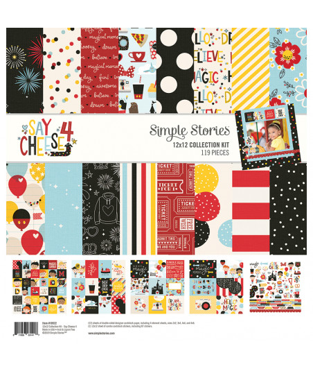 "SIMPLE STORIES - Say Cheese 4 - Collection Kit 12""x12"""