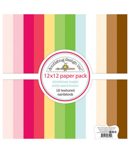 DOODLEBUG - Christmas Magic Collection - 30x30 Inch Paper Pad