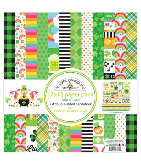 DOODLEBUG - Lots o' Luck - 30x30 Inch Paper Pad