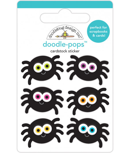DOODLEBUG -  Halloween - Candy Carnival - Pops 3D Stickers