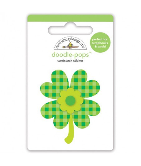 DOODLEBUG - Lots o' Luck - Pops 3D Stickers