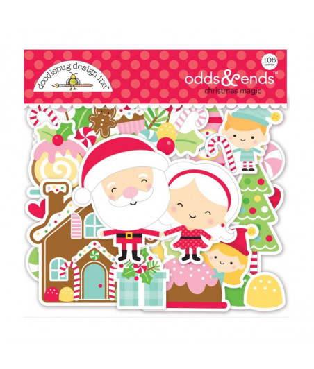 DOODLEBUG - Christmas Magic - Cut Pieces