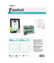 STUDIO LIGHT - Embossing big frame dies Essentials nr.209