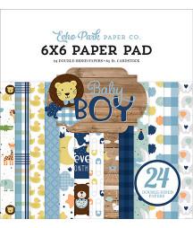 ECHO PARK - Baby Boy - 6x6...