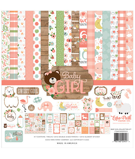 ECHO PARK - Baby Girl - 12x12 Inch Collection Kit