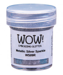 WOW! - Embossing Glitters - Metallic Silver Sparkle