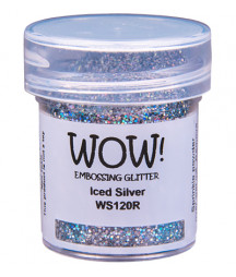 WOW! - Embossing Glitters - Iced Silver