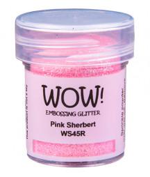 WOW!  -  Embossing Glitters - Pink Sherbert