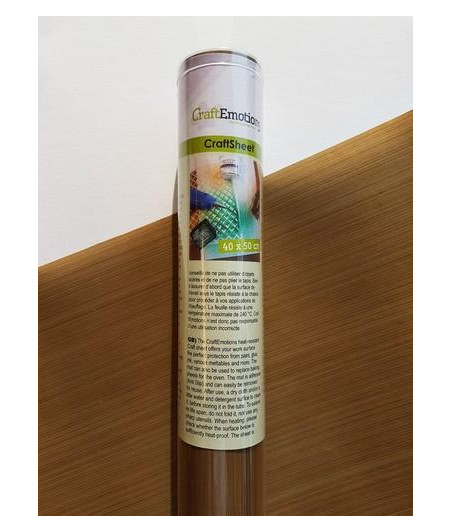 CRAFT EMOTIONS- Adhesive craftsheet 40x50cm
