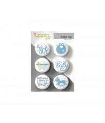 YUPPLA - Buttons - Baby boy
