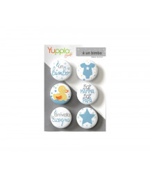 YUPPLA - Buttons - è un bimbo