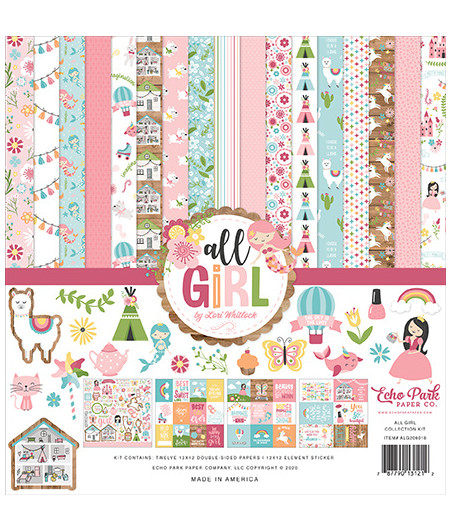 ECHO PARK - All Girl - Collection Kit 12X12