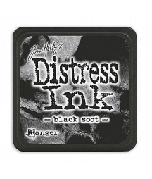 DISTRESS MINI INK -  Black...