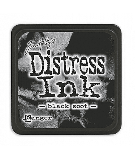 DISTRESS MINI INK -  Black Soot