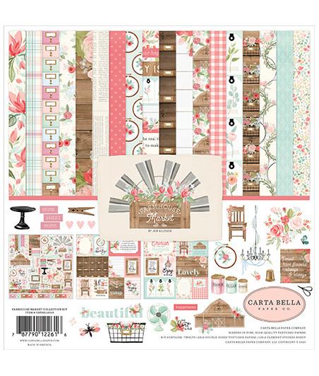 CARTA BELLA - Farmhouse Market 12x12 Inch Collection Kit