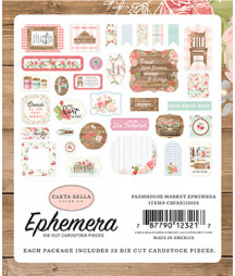 CARTA BELLA - Farmhouse Market -  Ephemera