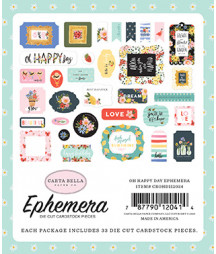 CARTA BELLA - Oh Happy Day - Ephemera
