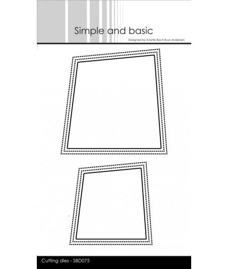 SIMPLE AND BASIC -  Wonky Window Dies