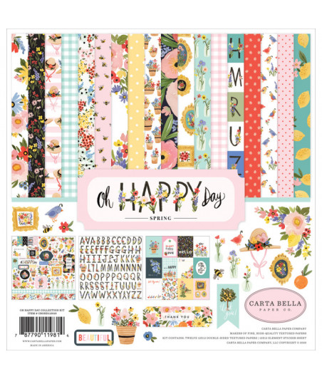 CARTA BELLA - Oh Happy Day - Collection Kit 12X12